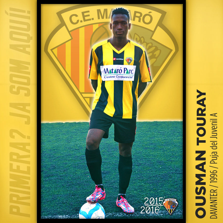 Picture of Ousman 'OUSMAN' Touray